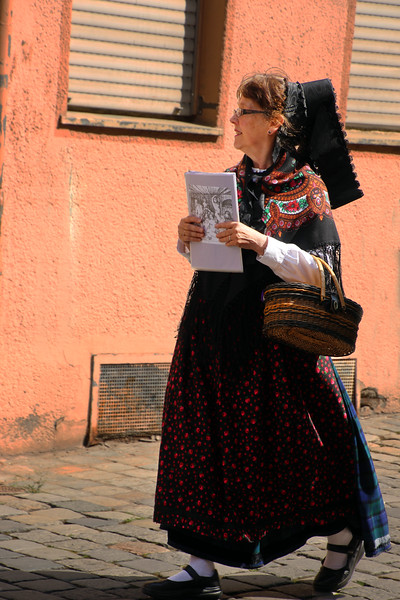 Lady in Regional Costume