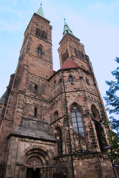 Nuremberg Germany, St. Siebald Church