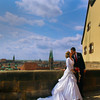 Nuremberg Germany, Wedding Couple, Old Wall