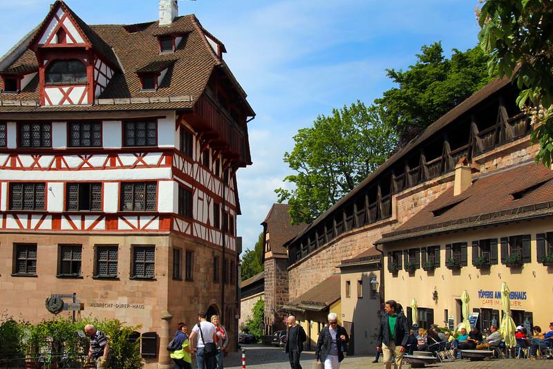 Nuremberg Germany, Albrecht  Dürer House