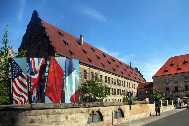 Nuremberg Germany, Palace of Justice, Site of the Nuremberg Trials