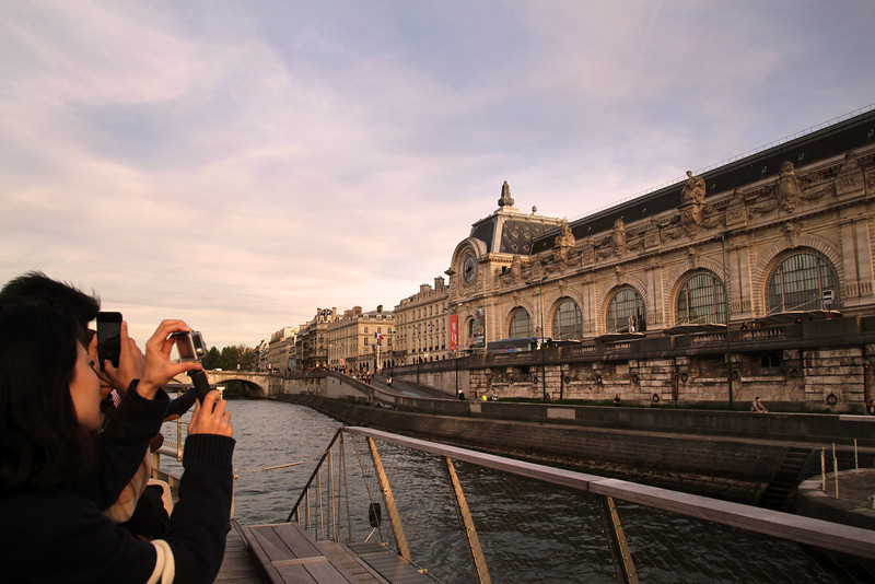 Paris France, Sunset Cruise on the Seine