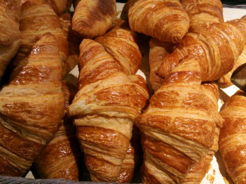 Paris France, Croissants