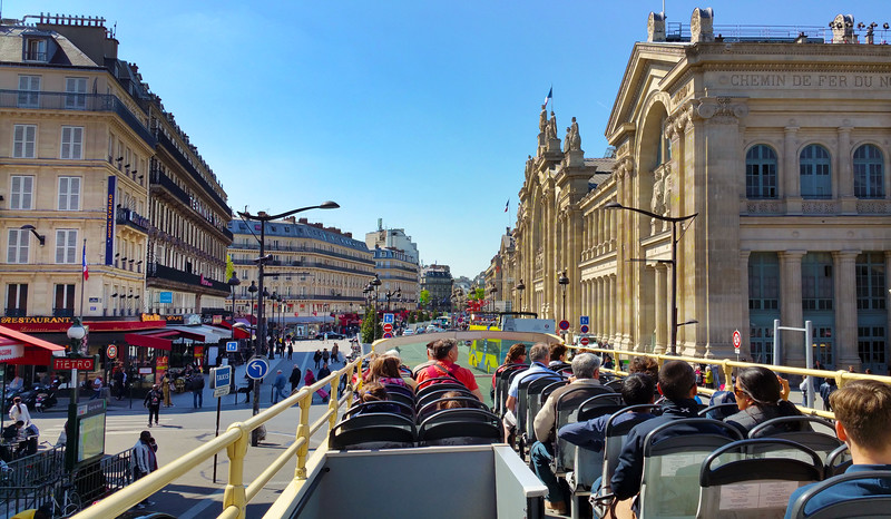 Paris France,  City Bus Tour