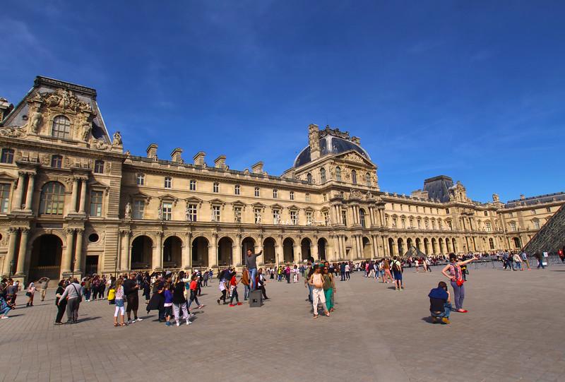 Paris France,  Louvre