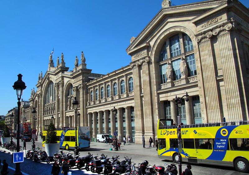 Paris France, Gare du Nord Train Station
