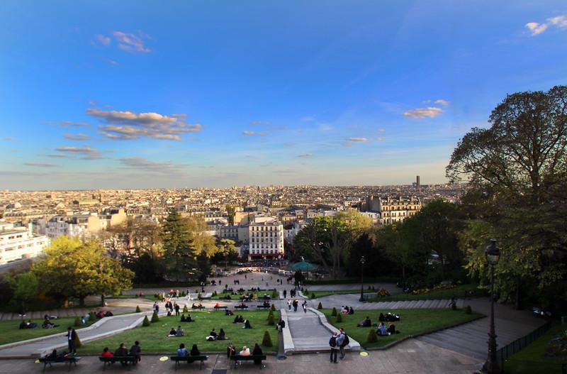 Paris France, View from  Montmartre