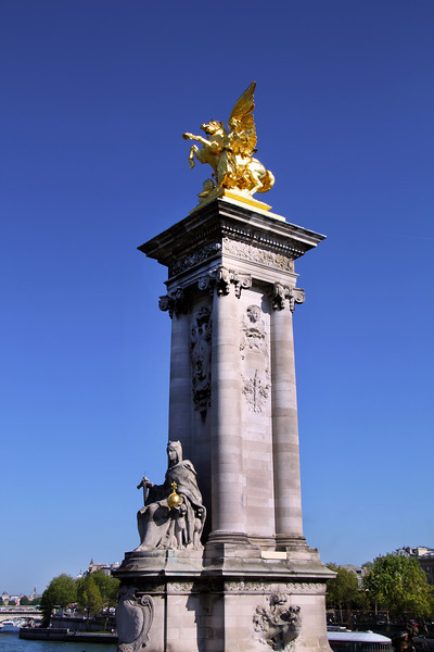 Paris France, Pont-Alexandre-III Bridge