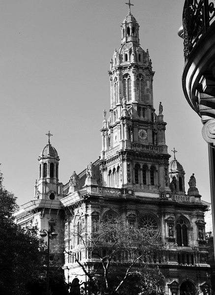 Paris France,  Sainte Trinité Church