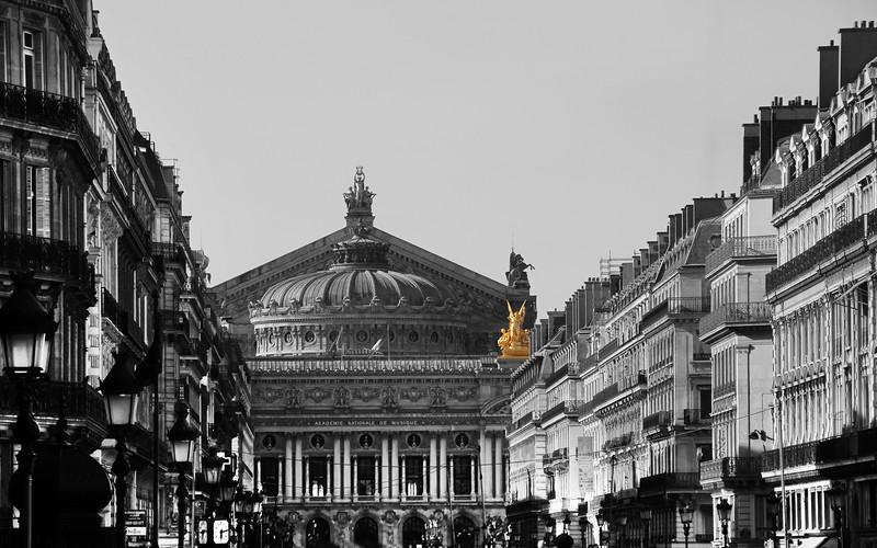 Paris France, Place de l'Opera
