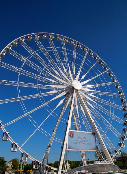 Paris France, The Big Wheel on Place de la Concorde