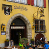 Rothenburg ob der Tauber, Cafe Scene