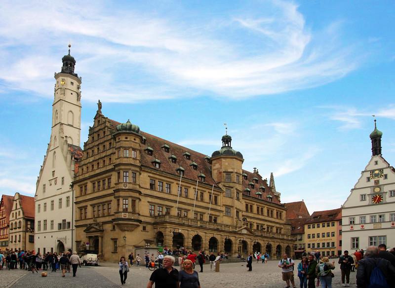 Rothenburg ob der Tauber, Town Square