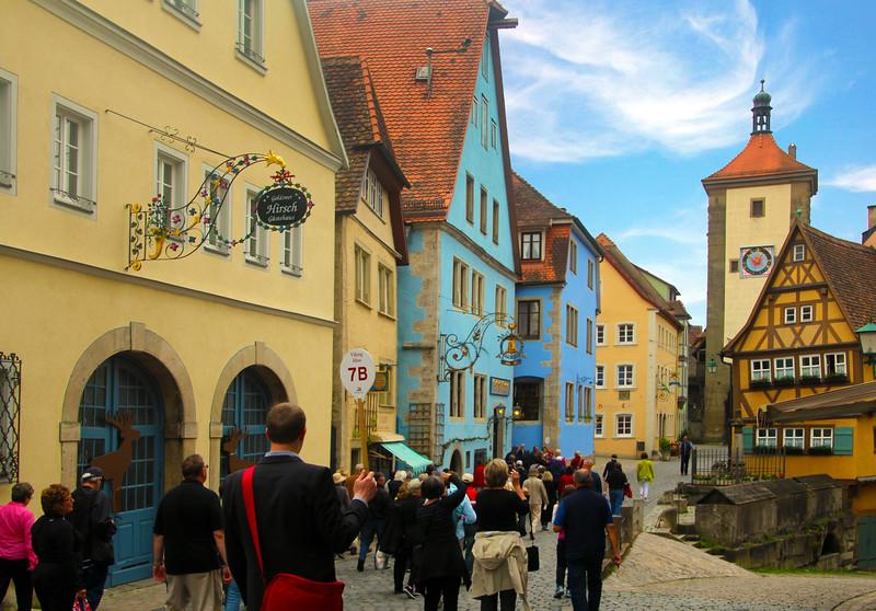 Rothenburg ob der Tauber, Ploenlein