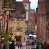Rothenburg ob der Tauber, Pedestrians, Main Street