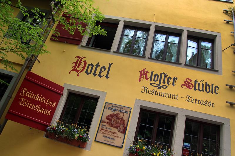 Rothenburg ob der Tauber, Colorful Gasthaus