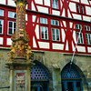 Rothenburg ob der Tauber, Market Place Fountain