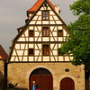 Rothenburg ob der Tauber, Half-Timbered House
