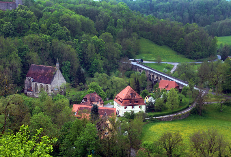 Rothenburg ob der Tauber, View From City Wall