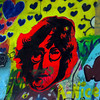 Prague, Czech Republic, John Lennon Wall, Portrait