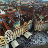 Prague, Czech Republic, View from Old Town Hall Tower