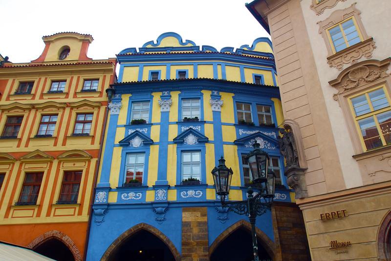 Prague,  Czech Republic, Colorful Buidings, Old Town Square