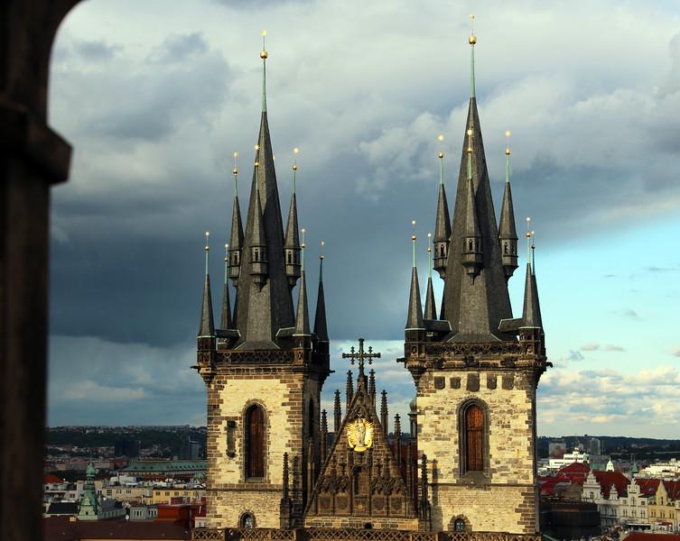 Prague, Czech Republic, Church of Our Lady Before Týn