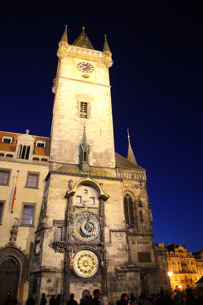 Prague, Czech Republic, Old Town Hall Astronomical Clock