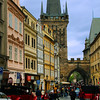 Prague, Czech Republic, Mala Stana Street Scene