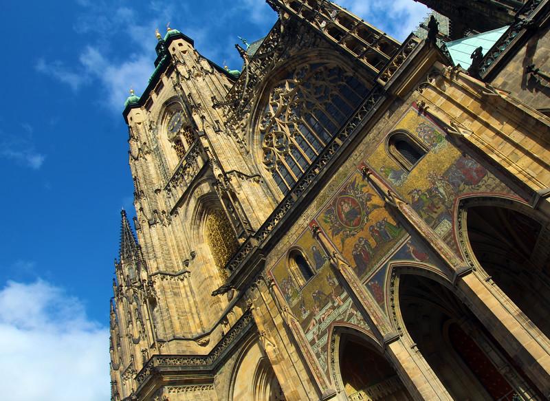 Prague, Czech Republic, St. Vitus Cathedral Mosaics