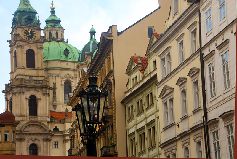 Viking River Cruise, Prague, Gaslamps