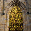 Prague, Czech Republic, St. Vitus Cathedral, Golden Grill