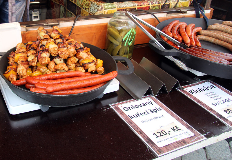Prague, Czech Republic, Sausages