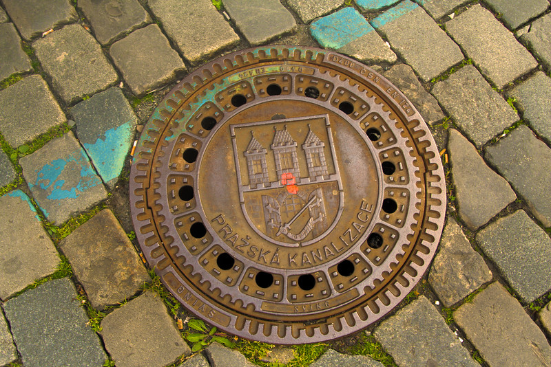 Prague, Czech Republic, Artistic Street Cover