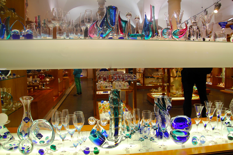 Prague, Czech Republic, Crystal Display