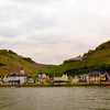Viking River Cruise, Assmanshausen, Panorama