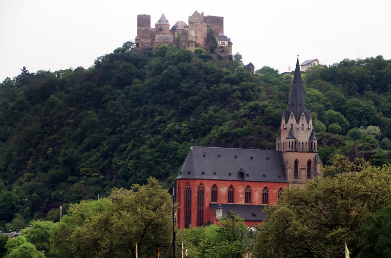 Viking River Cruise, Scenic Sites Along the Middle Rhine 4