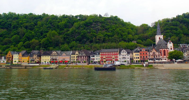 Viking River Cruise, Scenes Along the Middle Rhine