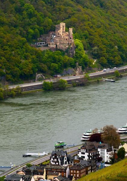Viking River Cruise,  Assmanshausen & Rheinstein Castle