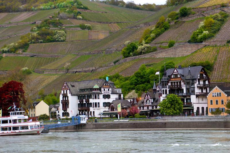 Viking River Cruise,  Hotel Krone, Assmanshausen