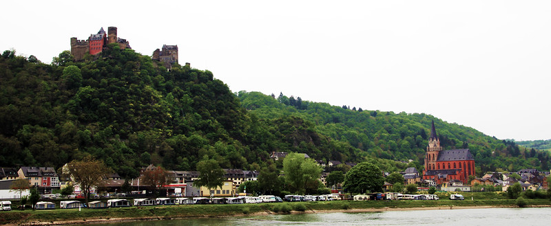 Viking River Cruise, Town Along the Rhine