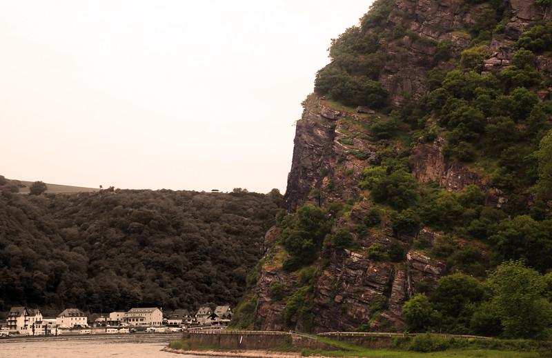 Viking River Cruise, Lorelei Rock, Middle Rhine