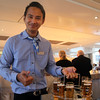 Viking River Cruise, German Night, Serving Beer