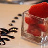 Viking River Cruise, Strawberry Dessert