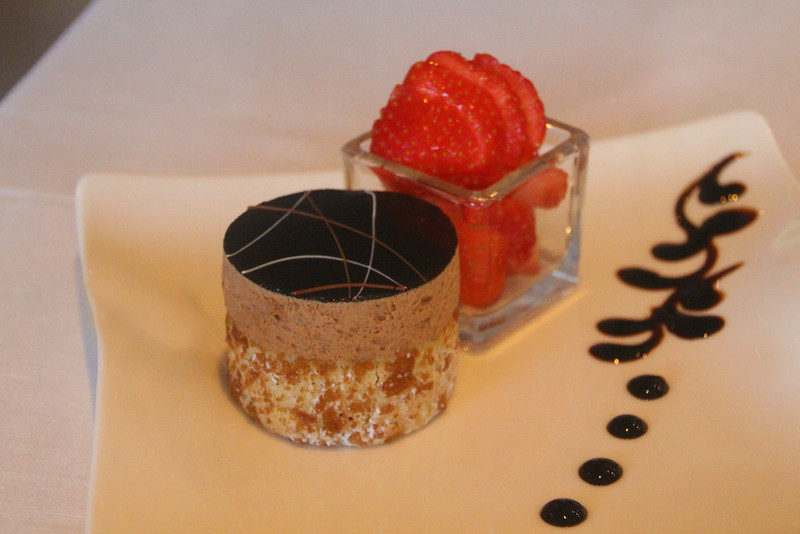 Viking River Cruise, Chocolate Mousse