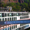 Viking River Cruise, Docked in Trier Germany