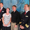 Viking River Cruise, Smiling Captain and Crew