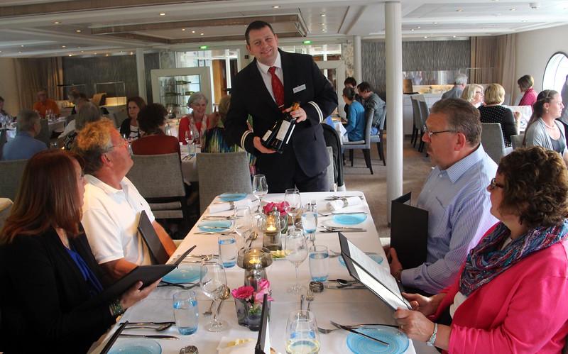 Viking River Cruise, Chef's Dinner