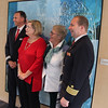 Viking Cruise, Passenger with Captain and Crew