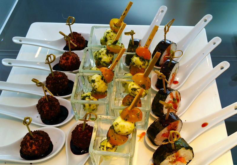 Viking River Cruise, Appetizers